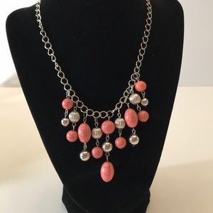 5/$20 Pink paparazzi beaded necklace